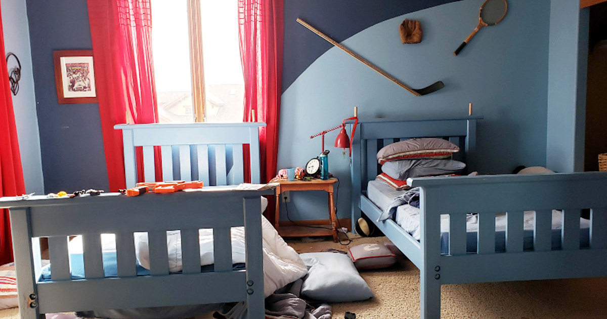 Boys' room get the coolest makeover with a rock climbing wall and more - TODAY
