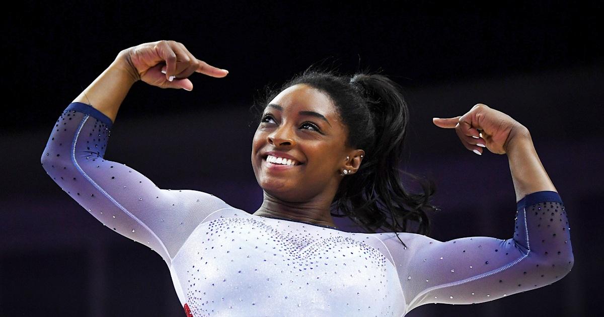 Watch Simone Biles nail gymnastics move she hasn't done since she 'was probably 13'