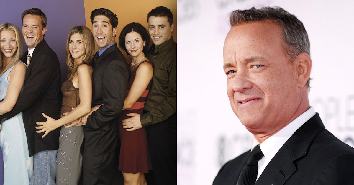 Tom Hanks could've played this character on 'Friends'