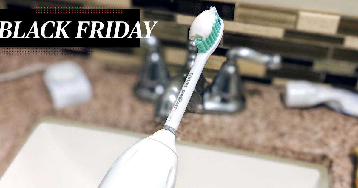 The electric toothbrush with over 8,000 reviews is 60% off today