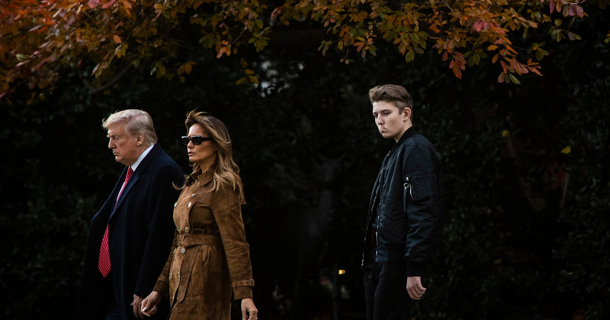 Melania Trump says Democratic impeachment witness should be 'ashamed' for mentioning son Barron