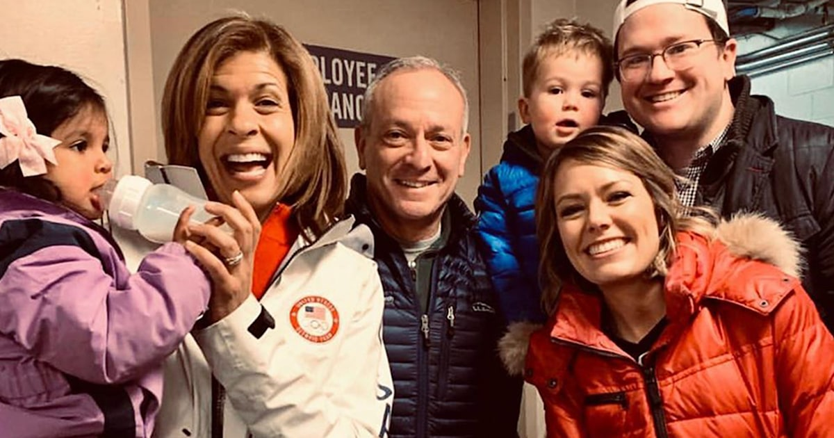 How Hoda Kotb helped Dylan Dreyer's family through miscarriage