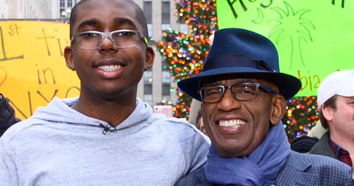 Al Roker shares video of son Nick that brought him 'a moment of peace'