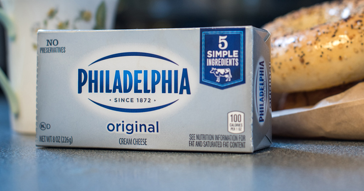 Surprise! Philadelphia cream cheese isn't actually from Philly