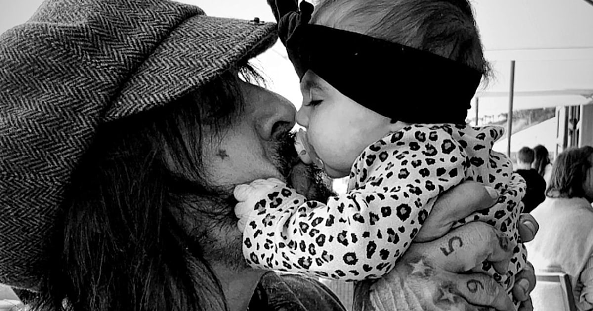 Motley Crue's Nikki Sixx shares sweet photo and tribute to fatherhood