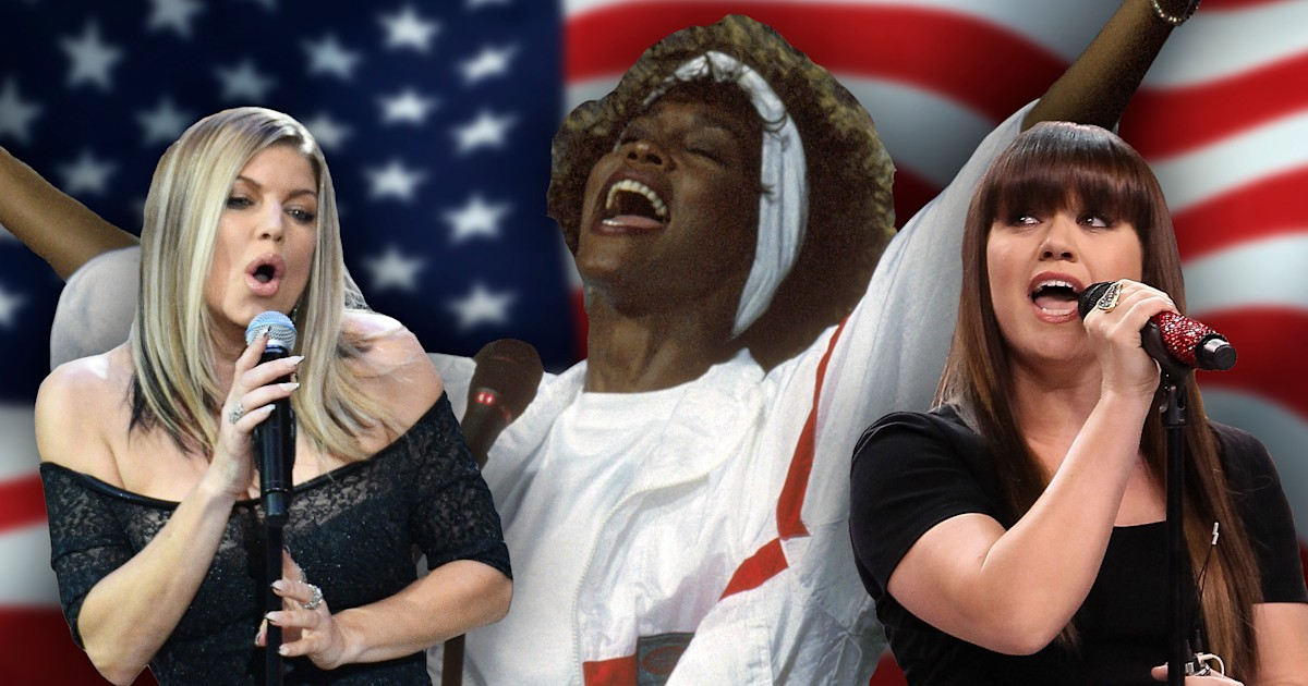 10 of the most unforgettable national anthems ever performed