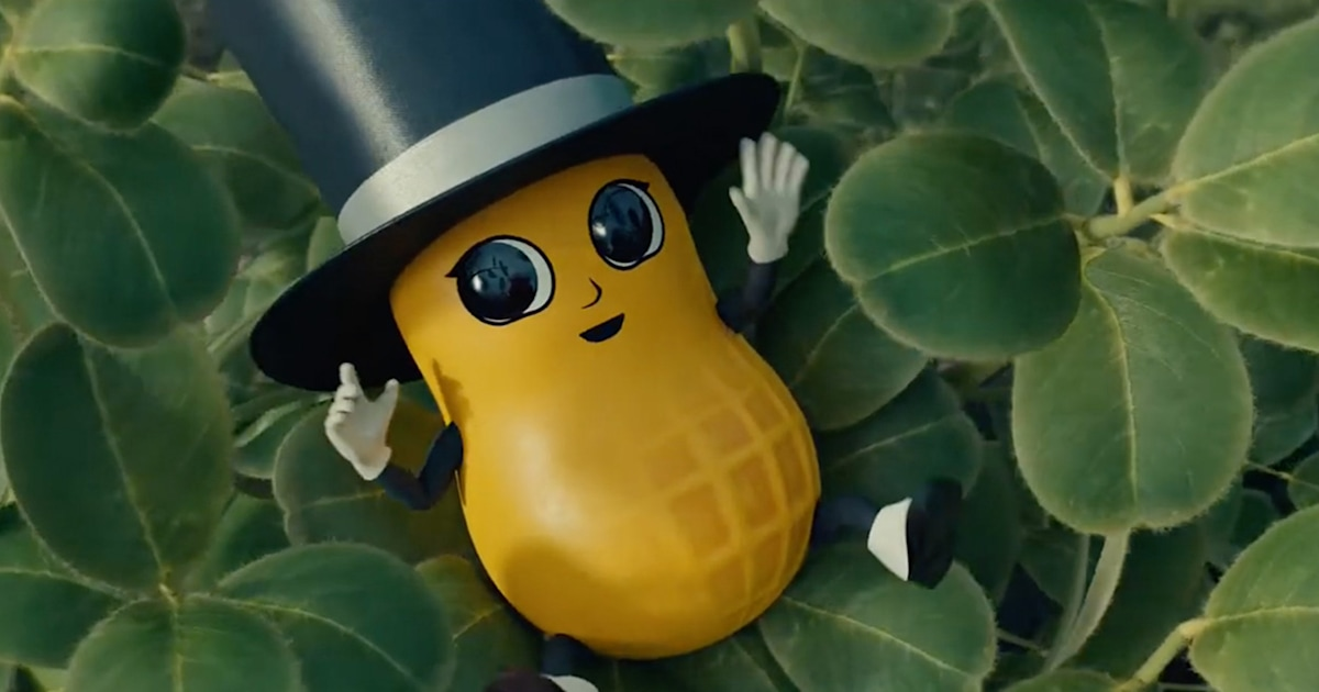 Baby Nut is growing up – see Mr. Peanut's latest look