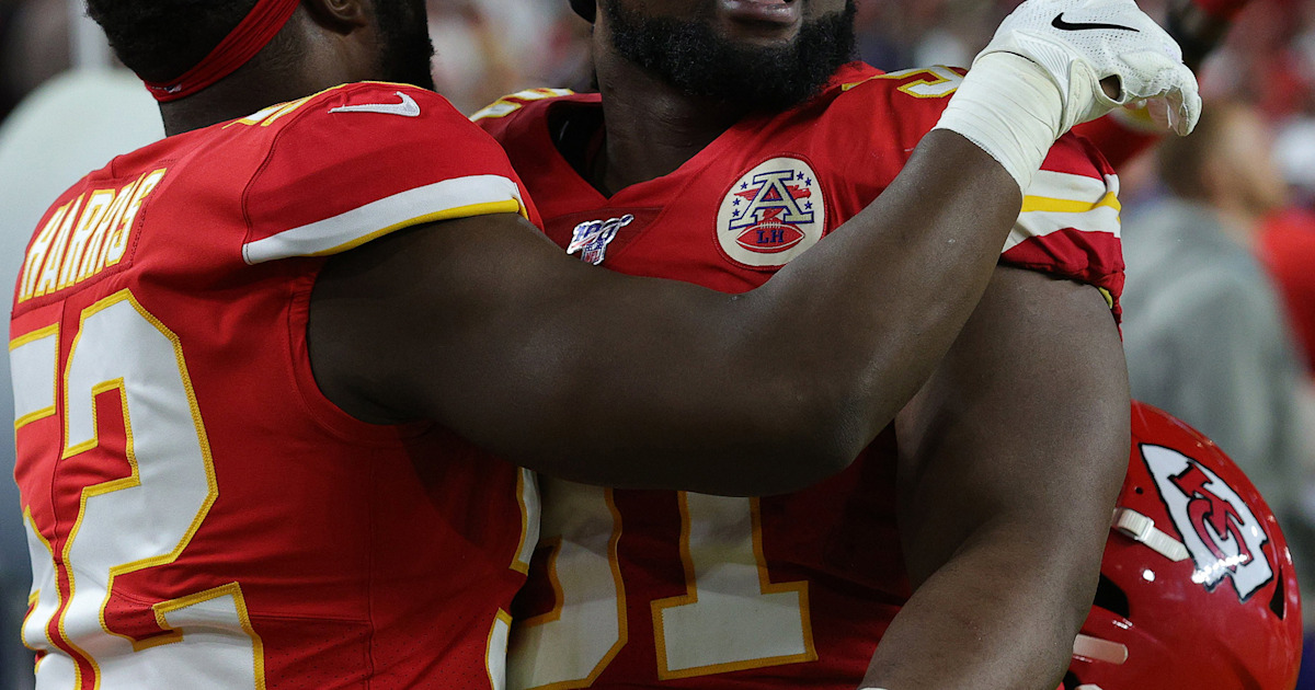 How Chiefs player is using team's Super Bowl win to help out dogs who need a home