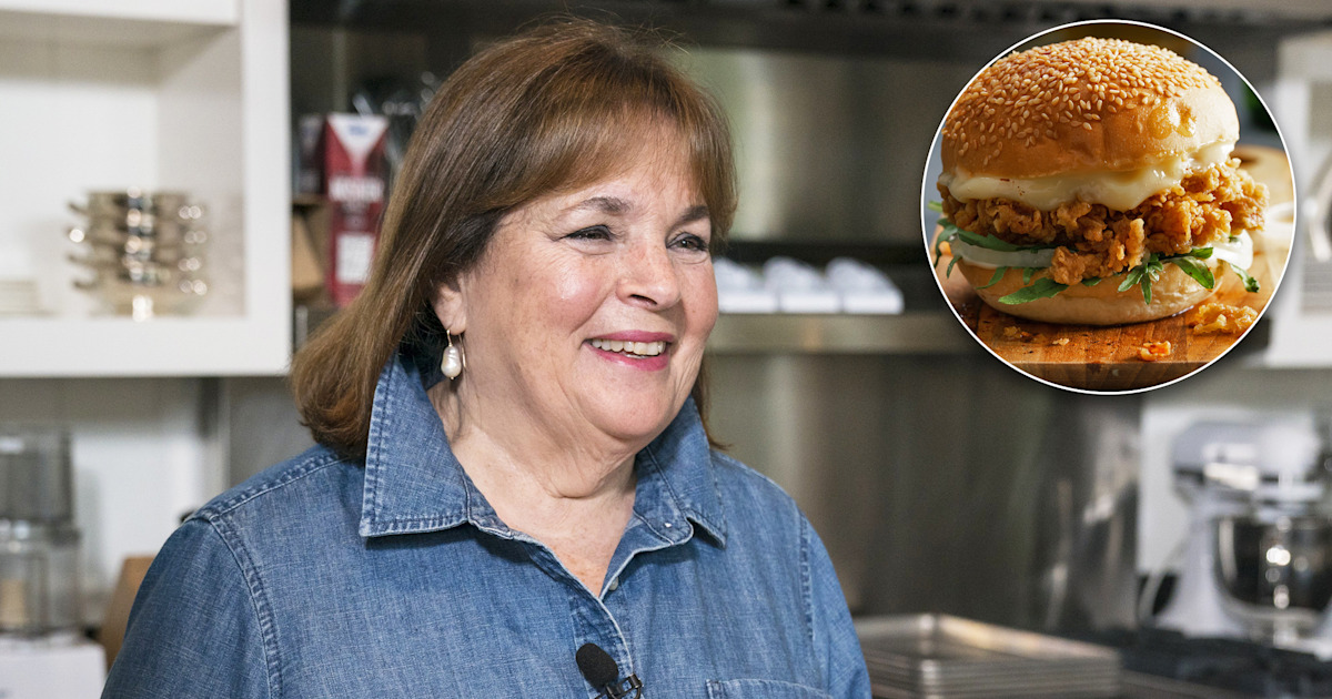 Ina Garten's easy fried chicken sandwich recipe is here to unseat Chick-fil-A
