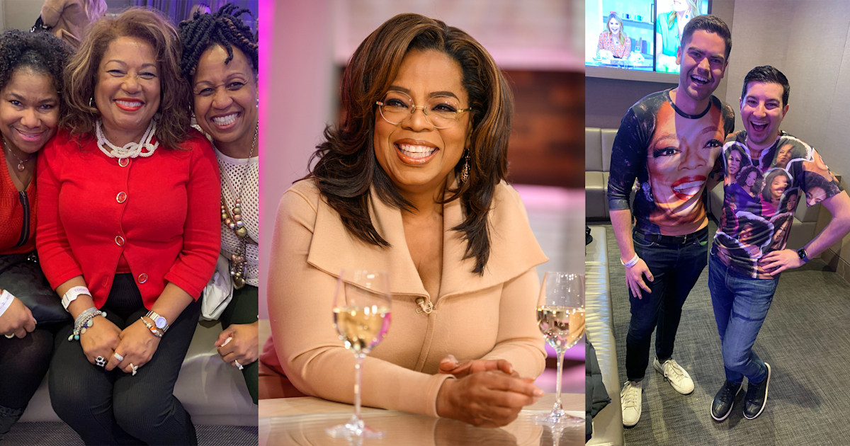 Meet Oprah's superfans who traveled to see her on TODAY: 'She is my life force'