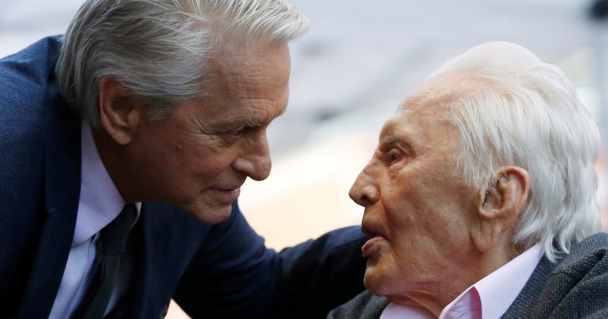 Michael Douglas shares sweet photo in 1st Instagram post since father's death