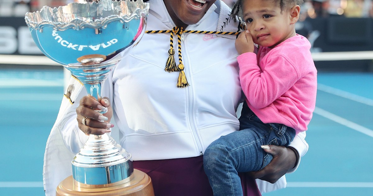 The inspiration that keeps Serena Williams going as a mom and athlete