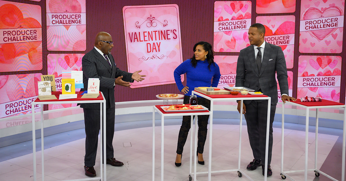 Al, Craig and Sheinelle reveal their romantic Valentine's Day traditions