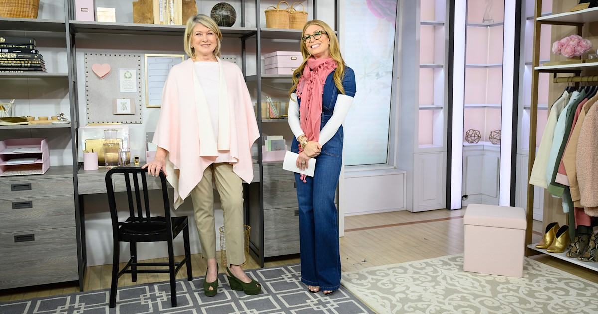From figure-flattering jeans to organizing solutions, Martha Stewart's products have you covered