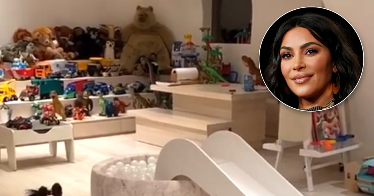 Kim Kardashian West Reveals Her Kids Colorful And Very