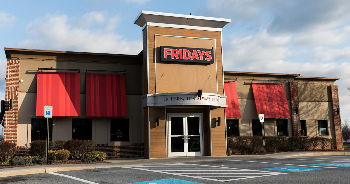 TGI Friday's closes dozens of restaurants amid slumping sales