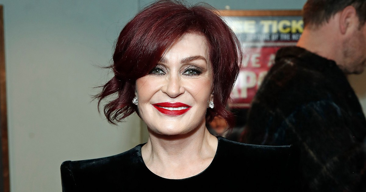 Sharon Osbourne reveals dramatic hair transformation — see her white-hot look
