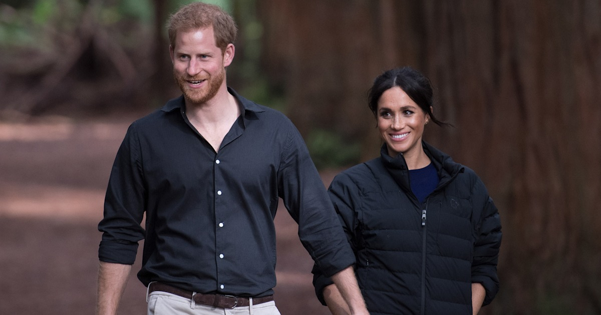 Prince Harry and Meghan Markle seen together for 1st time since royal 'step back'