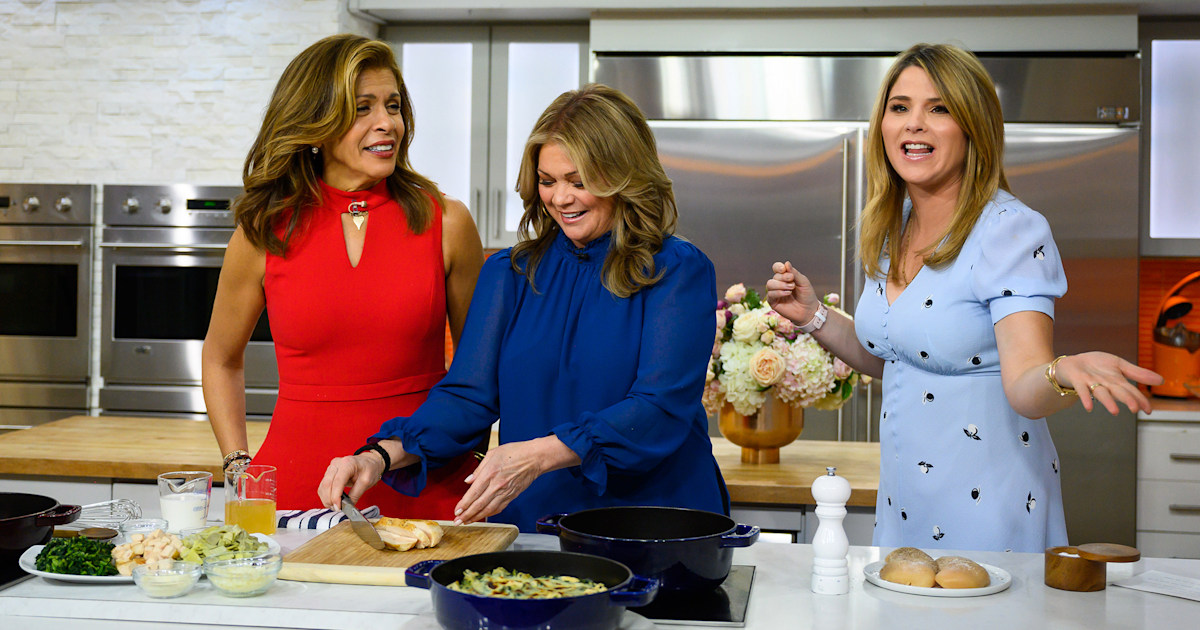 Valerie Bertinelli Whips Up A Low Carb Casserole Amp Healthy Sides For Easy Dinners