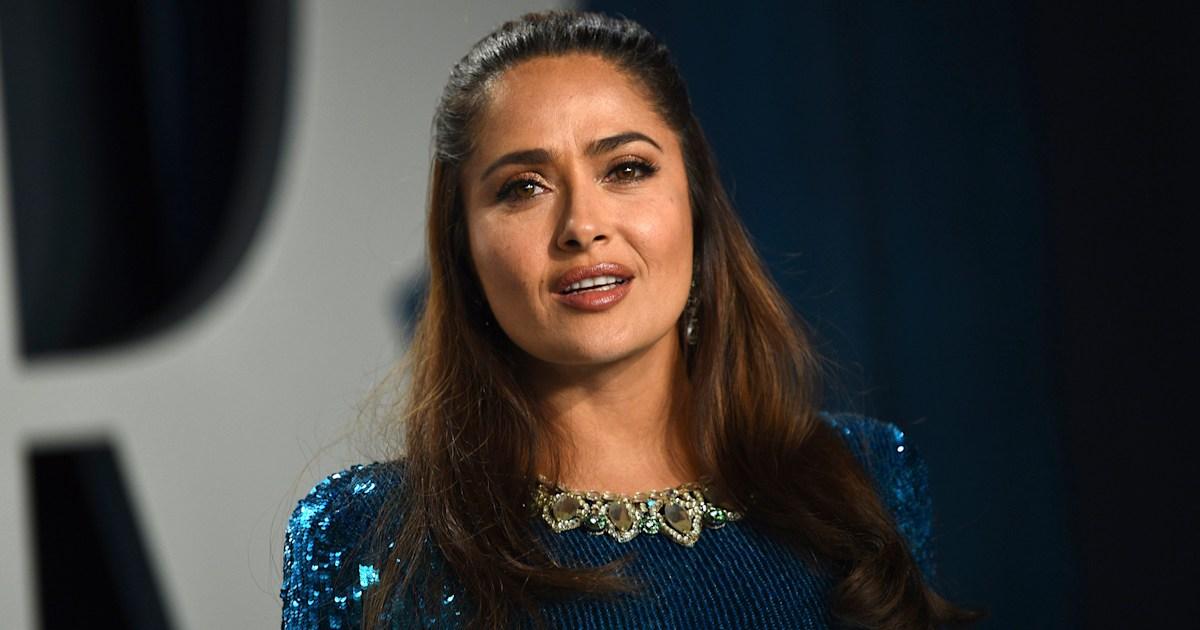 Salma Hayek shoots down critic who says she has 'too much Botox'