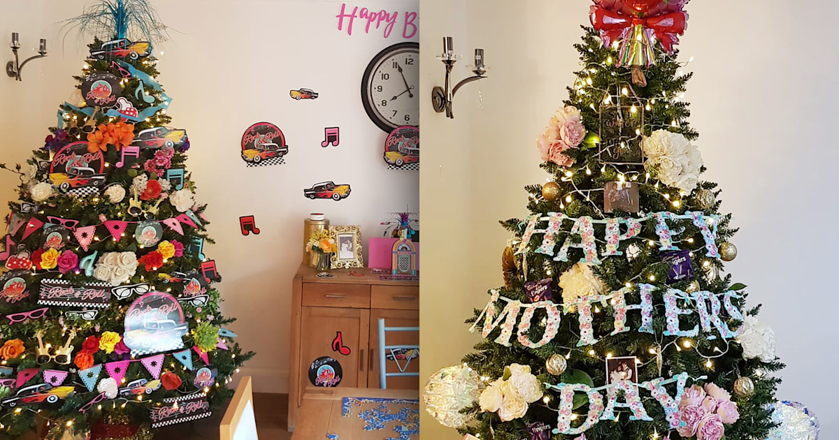 How this mom uses her Christmas tree to celebrate holidays year-round