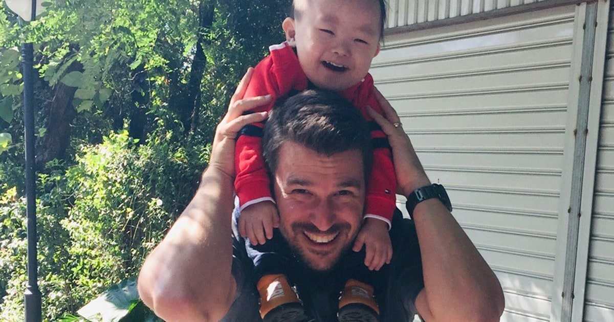 See mom's sweet tribute to dads who adopt kids with special needs
