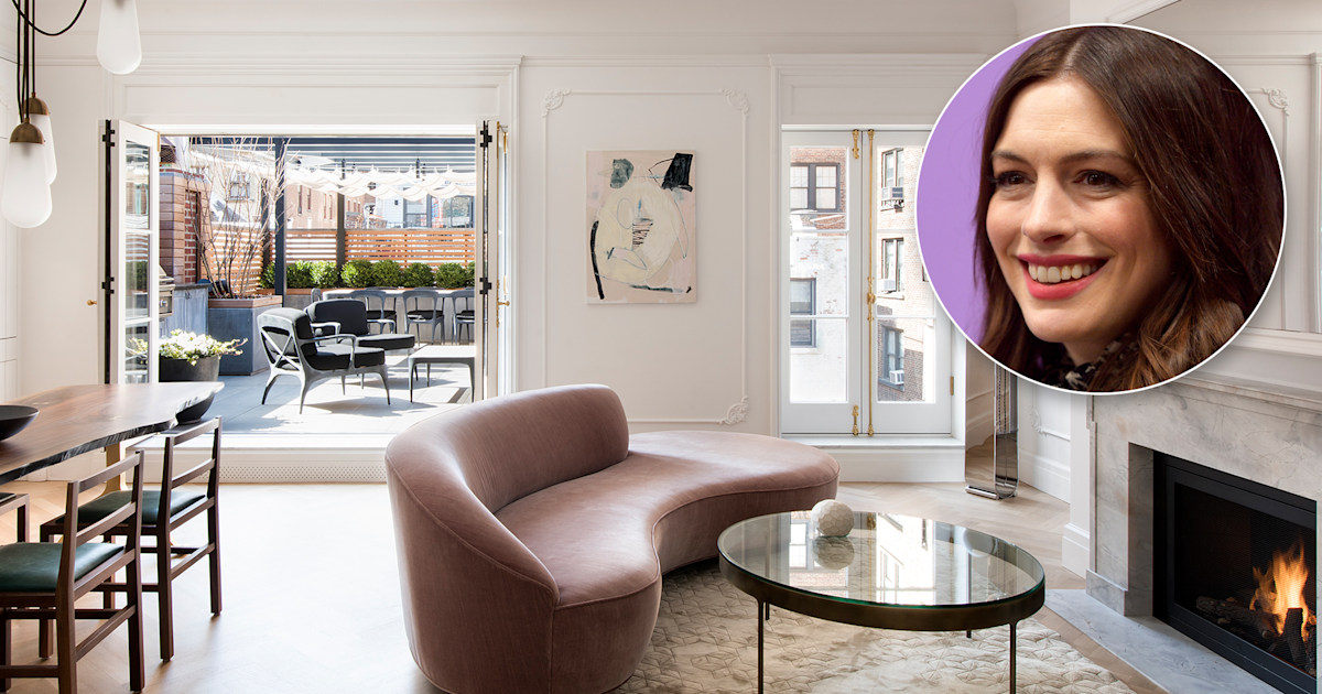 Anne Hathaway's glamorous $3.5 million penthouse is for sale — see inside!
