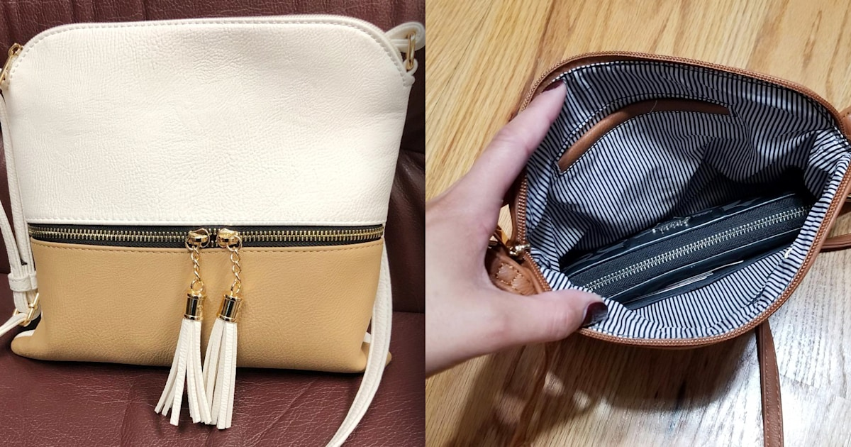 Over 3,000 verified reviewers love this $16 crossbody bag