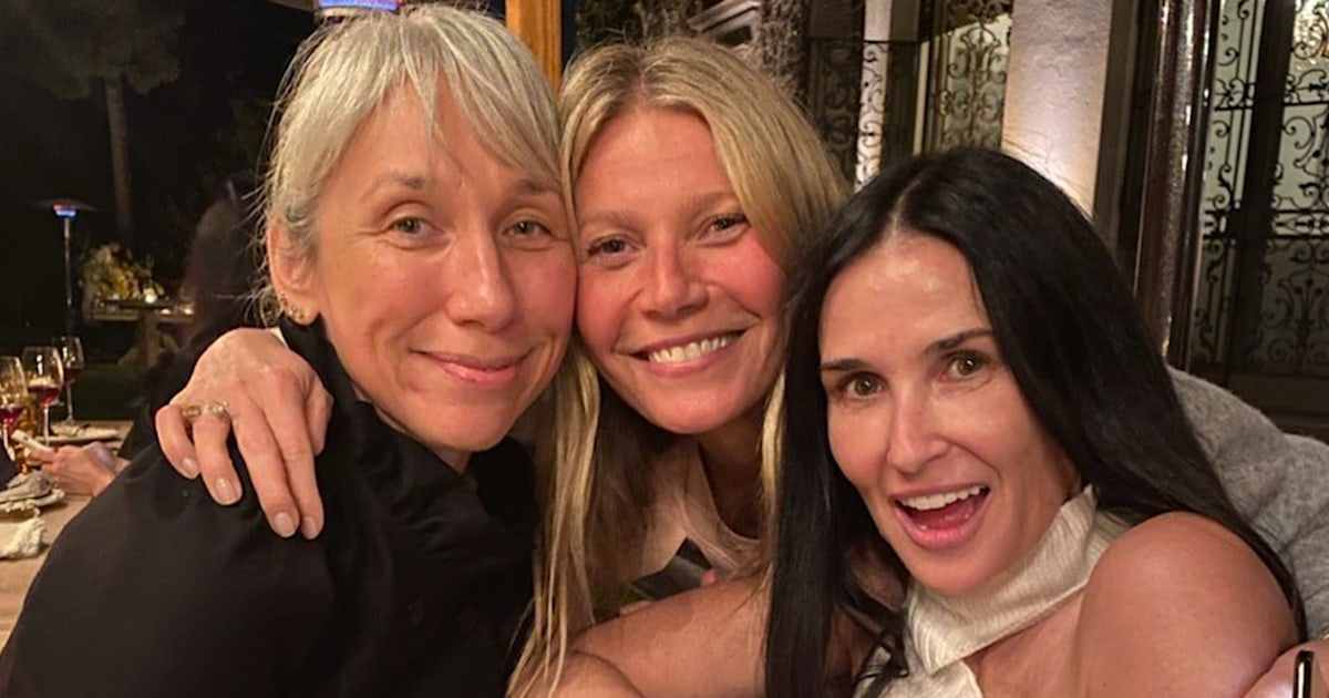 Gwyneth Paltrow hosts makeup-free event with Demi Moore, Kate Hudson and more
