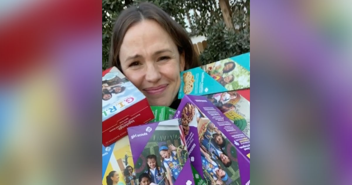 Can't find any Girl Scout cookies? Jennifer Garner will send you some