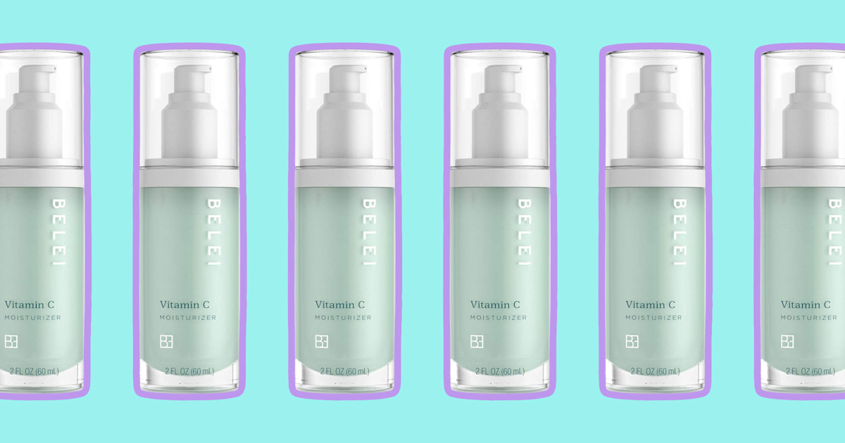 My days of painfully dry skin are over thanks to this vitamin C moisturizer