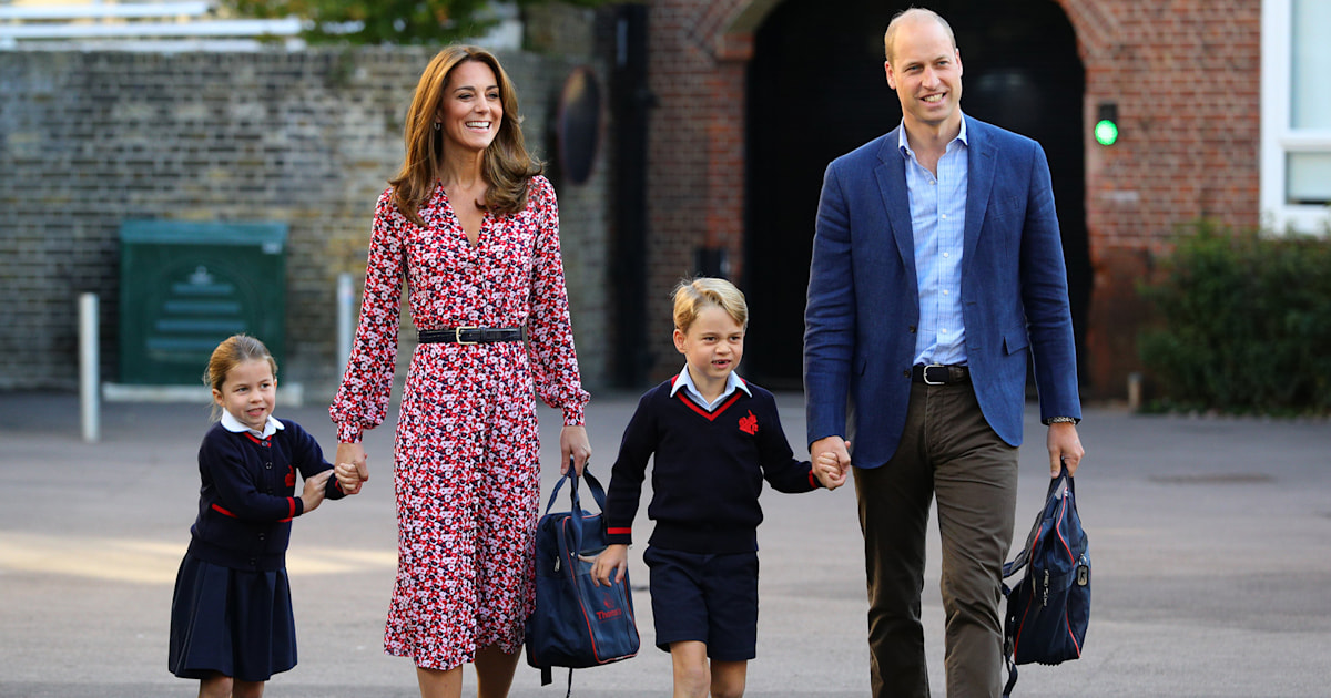 Kate Middleton shares the reason Prince George wants to do his sister's homework
