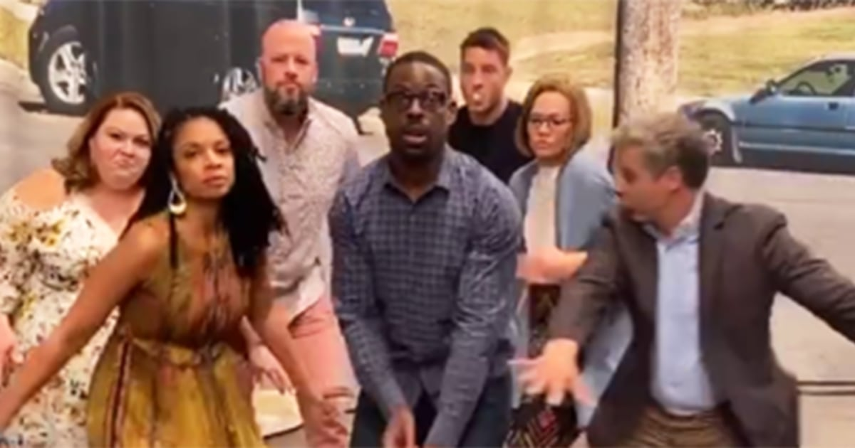 Watch Sterling K. Brown and 'This Is Us' cast nail viral dance craze