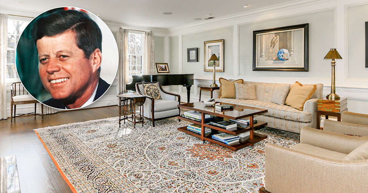 John F. Kennedy's gorgeous D.C. home hits the market — see the pics!