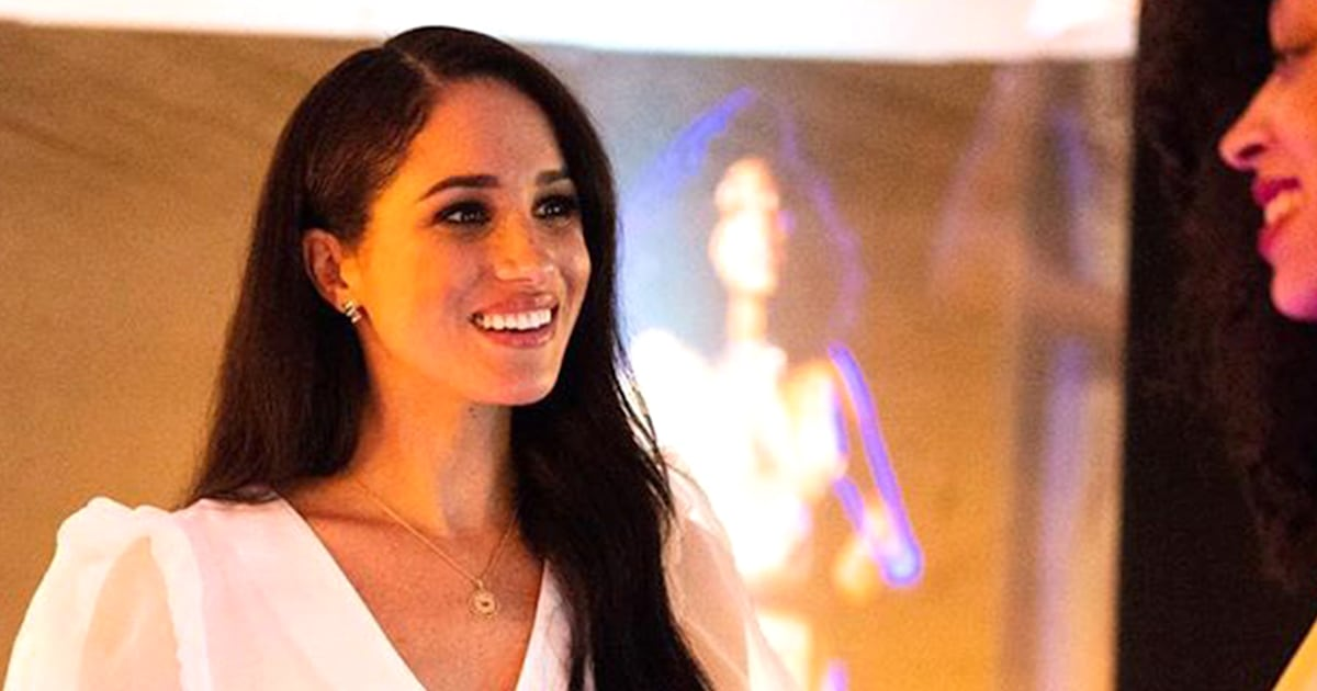 See the loving message on Meghan Markle's necklace