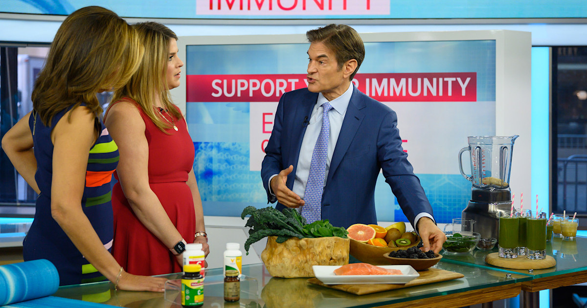 Dr. Oz shares 4 ways to strengthen your immune system
