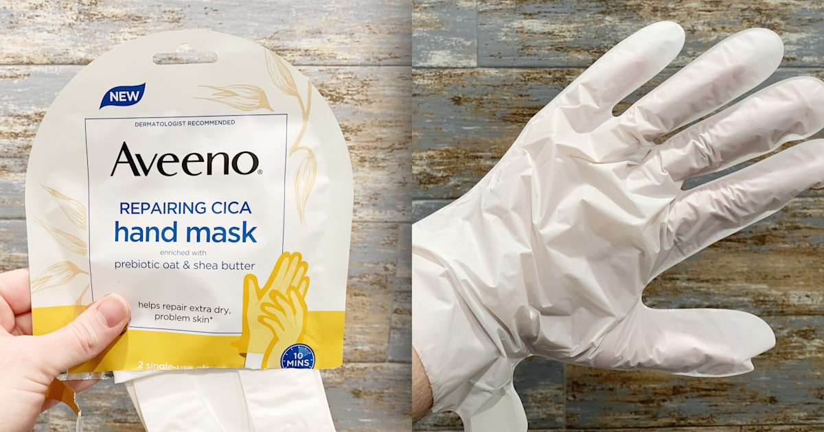 Drew Barrymore and I use the same hand mask — and it's saving my dry skin