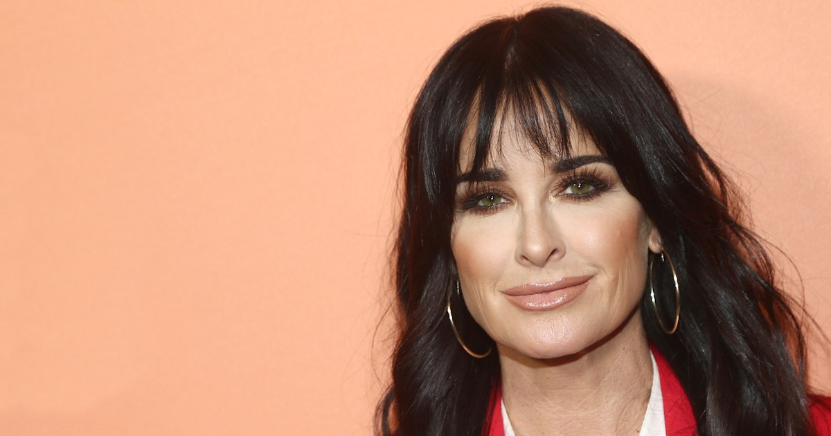 Real Housewife Kyle Richards revealed her quick fix for root touch-ups