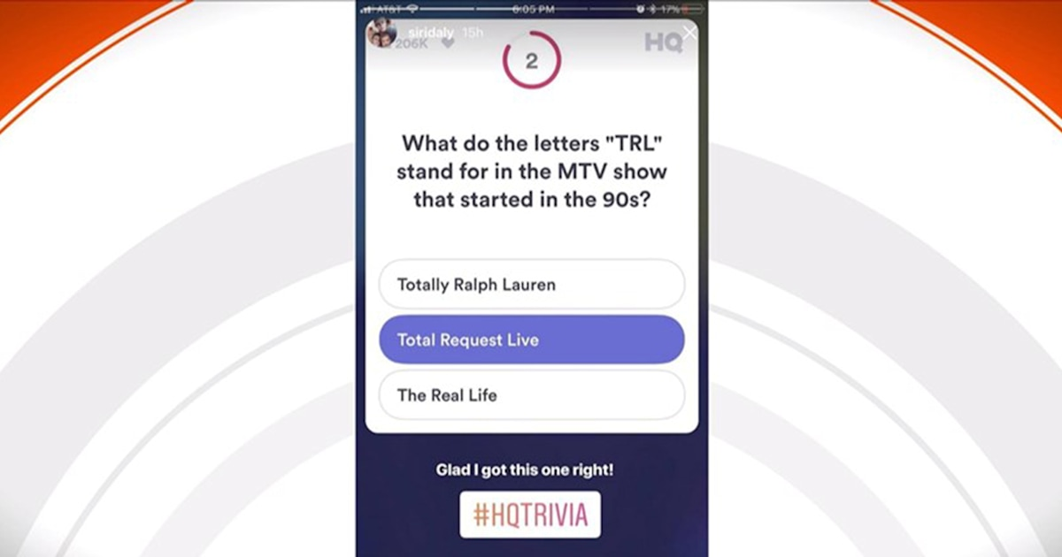 HQ Trivia has made a comeback in time to give everyone a welcome distraction