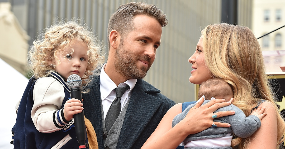 Ryan Reynolds in quarantine with daughters during ...