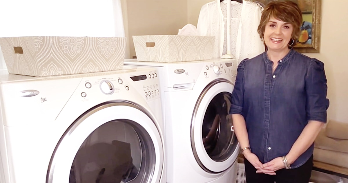 How to disinfect your laundry room and keep clothes fresh, according to an expert