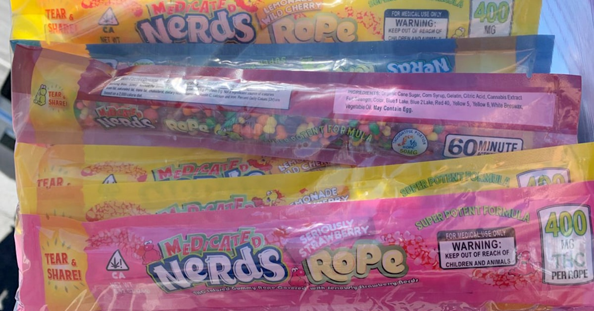 Two children hospitalized after eating THC candy from a food bank