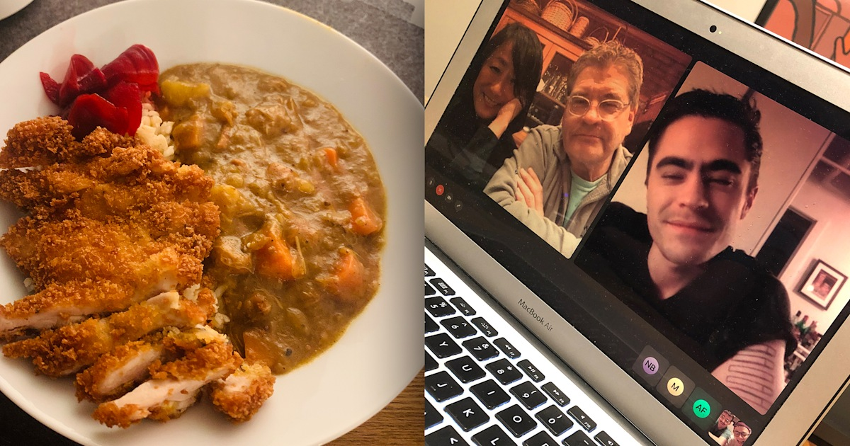How cooking together (virtually) keeps my family connected