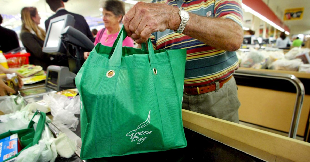 Are plastic bags at the grocery store safer than reusable totes?
