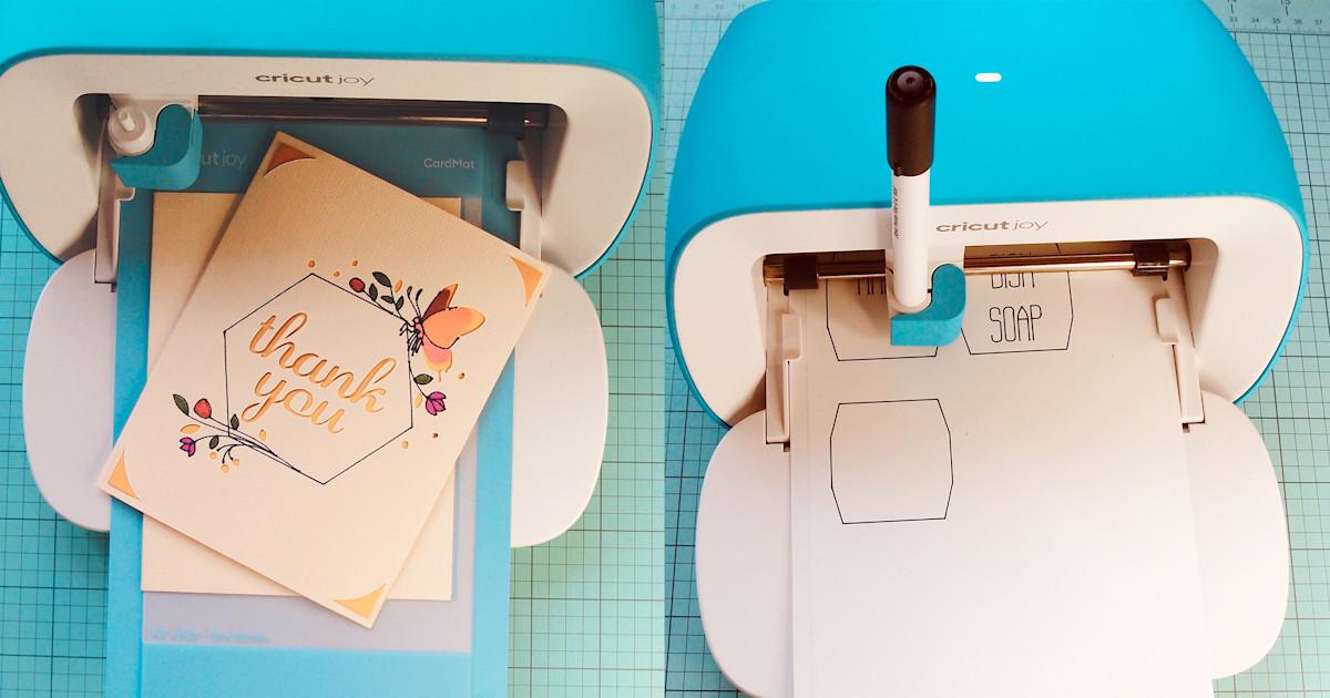 The Cricut Joy is a perfect machine for quarantine crafts