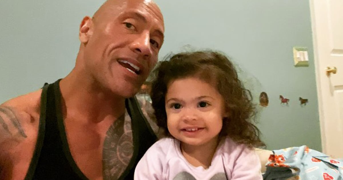 The Rock sings 'Moana' as part of adorable 'daughter-daddy' bedtime ritual