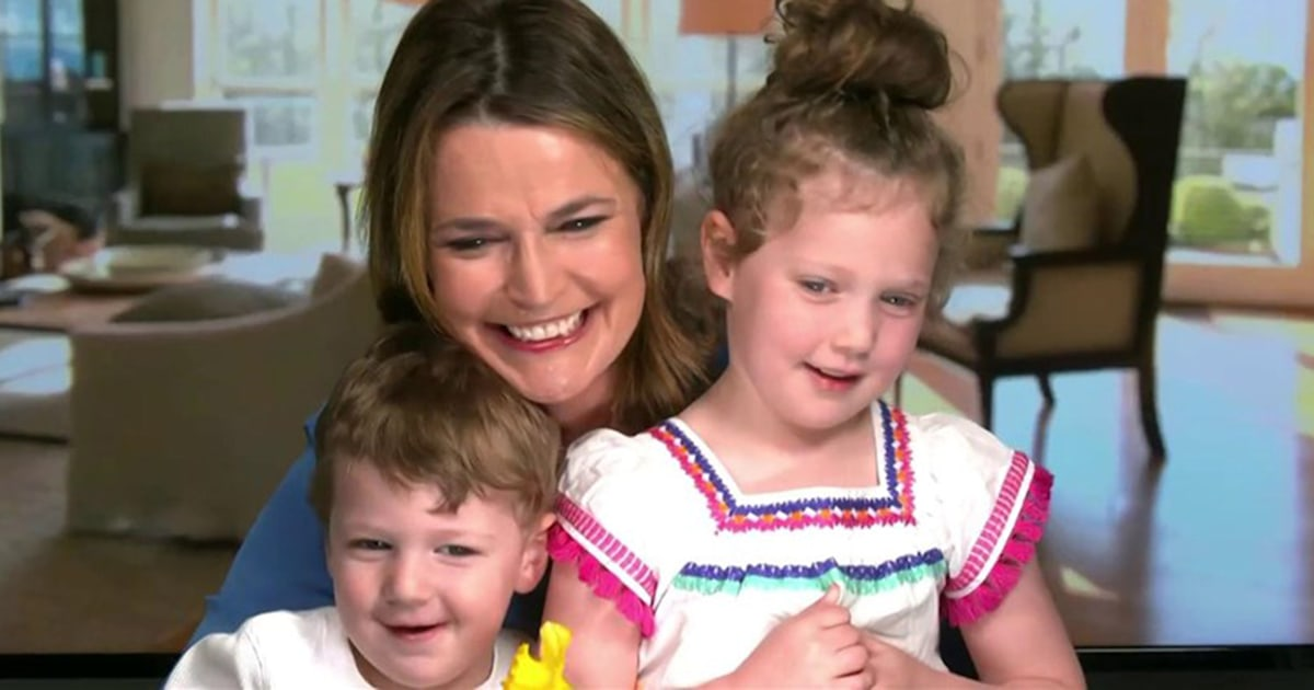 Flipboard See Savannah Guthrie And Hoda Kotb Get Mother S Day Surprises From Their Kids