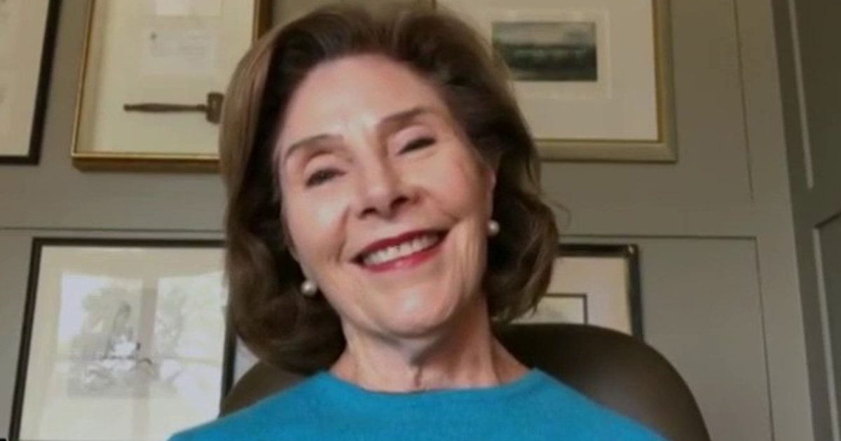 Laura Bush tells Jenna how she and George W. Bush are keeping busy in quarantine