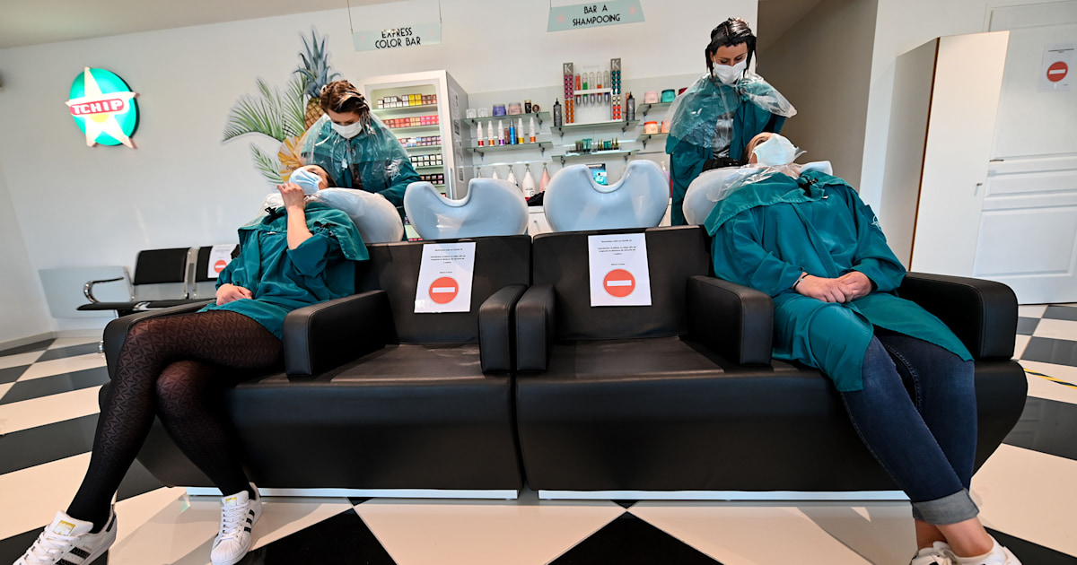 Hair salons will be different when they reopen: Here's what you should expect