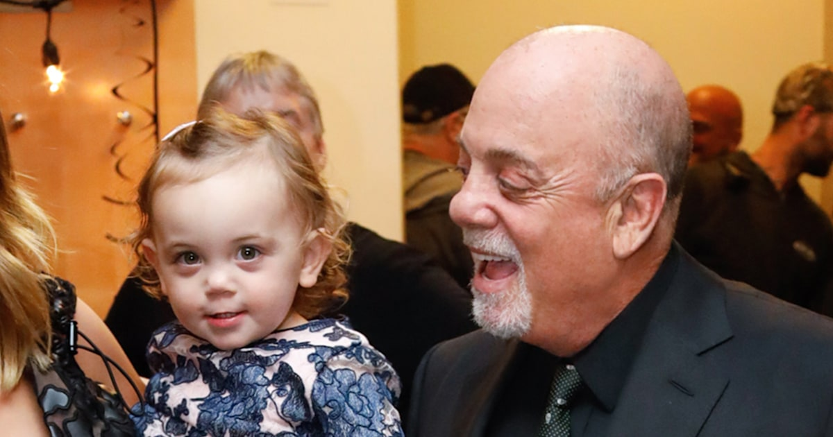Billy Joel's youngest daughters serenade him on his birthday
